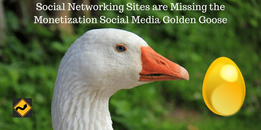 Social Networking Sites are Missing the Monetization Social Media Golden Goose