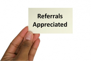 Referrals Appreciated RainToday RainMakers Tips on How to Get Referrals