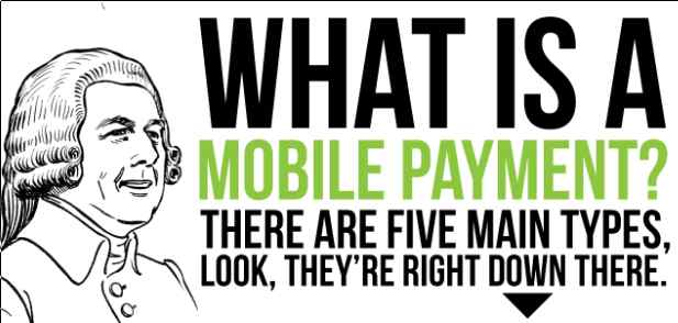 What is a Mobile Payment? There are five types. See next image