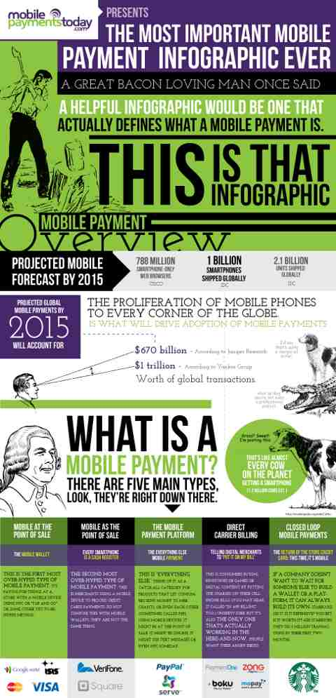 What is Mobile Marketing Infographic ~ Mobile Payment Infographic