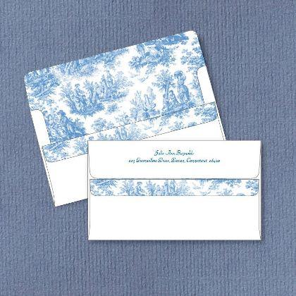 Blue Landscape Design Stationary