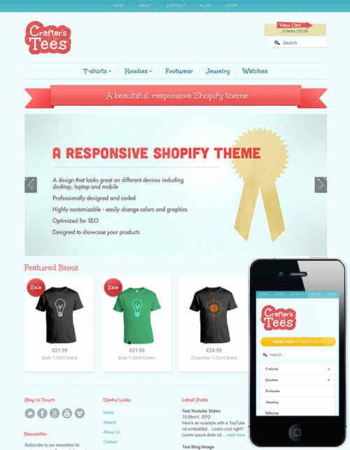 Flex Mobile Responsive Theme