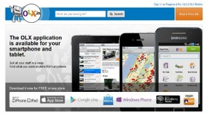 OLX applications are available for smartphones and tablets