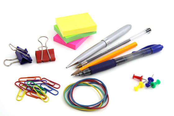 Assorted office supplies: how to save on costs
