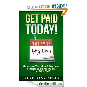 Get Paid Today book cover - available on Kindle