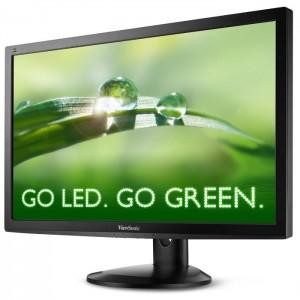 Photo of the ViewSonic vg2732m LED energy-saving rotating monitor