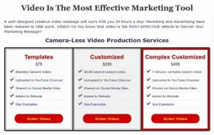 Video Pricing - Videos for small businesses from $79 and up
