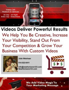 NewHorizons123.com Video Creation poster