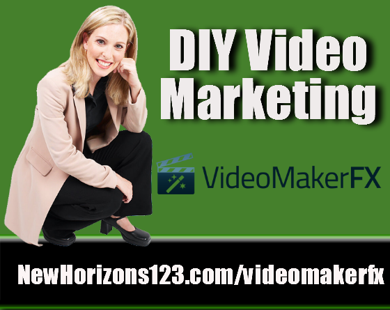 DIY video marketing videomakerfxgreen