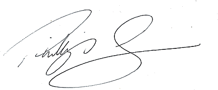 Phillip Dews signature