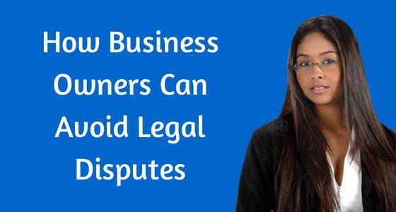 Avoiding Legal Disputes