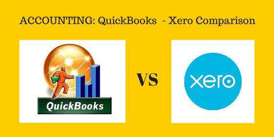 Accounting: QuickBooks vs Xero Comparison