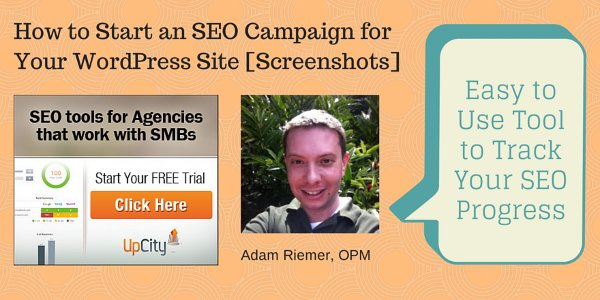How to Start an SEO Campaign for Your WordPress Site [Screenshots]