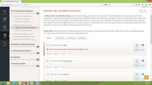 UpCity screen shot: Website 102: Top Web Directories