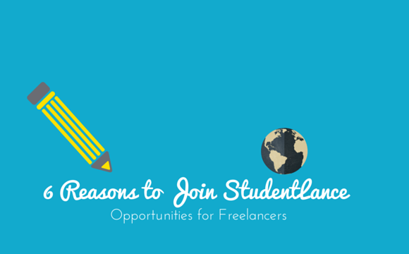 6 Reasons Why Freelancers Should Join Studentlance.com
