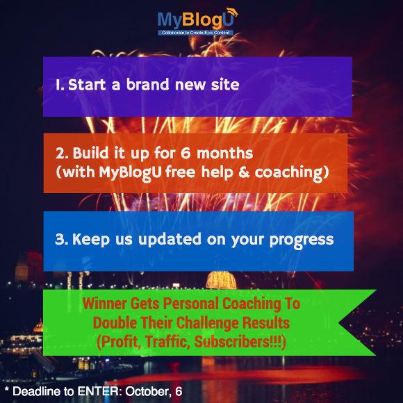 The MyBlogU Blog Launchpad: Content Zero to Blogging Hero Challenge #MyBlogU
