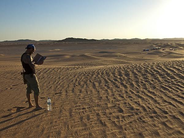 national geographic sunset desert