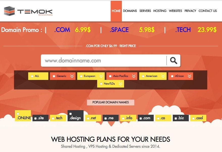 Temok Web Hosting Testimonial