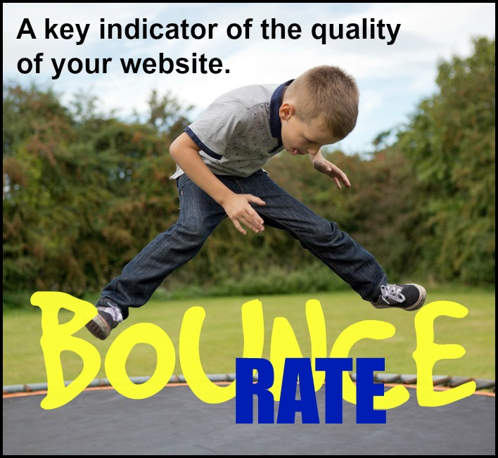 Bounce rate - a key quality indicator