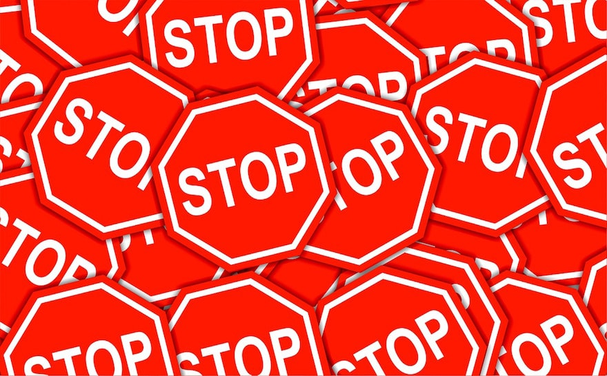 Stop Signs-Failed Marketing