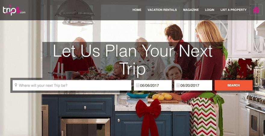 Tripz Homepage