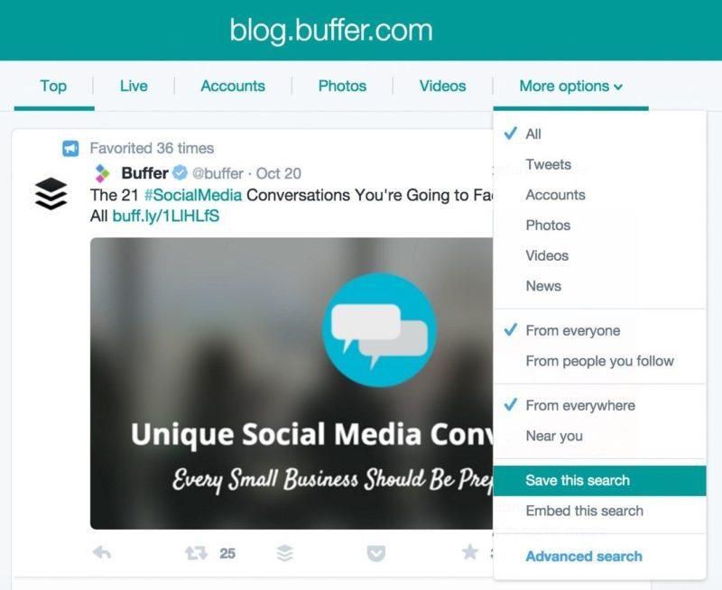 Blog buffer
