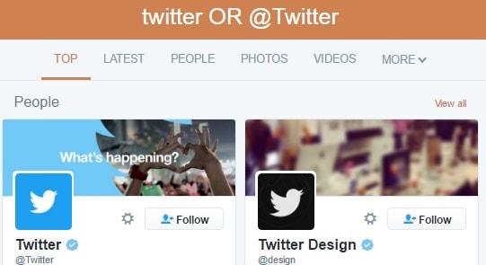 twitter or twitter
