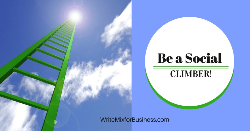 Be A Social Climber