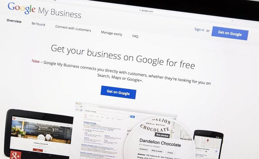 google my business entrepreneurs marketing