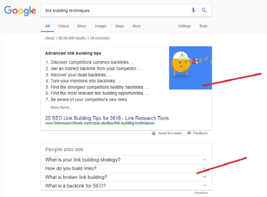 Featured Snippets and Quick Answers