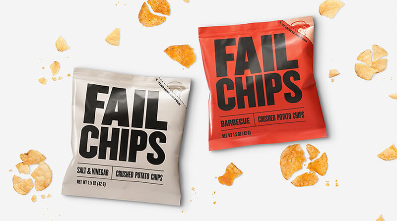 Mailchimp Failchips content marketing campaign