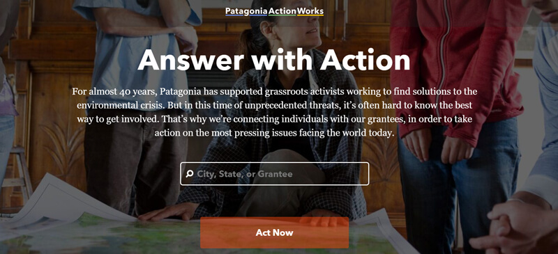 Patagonia Content Marketing