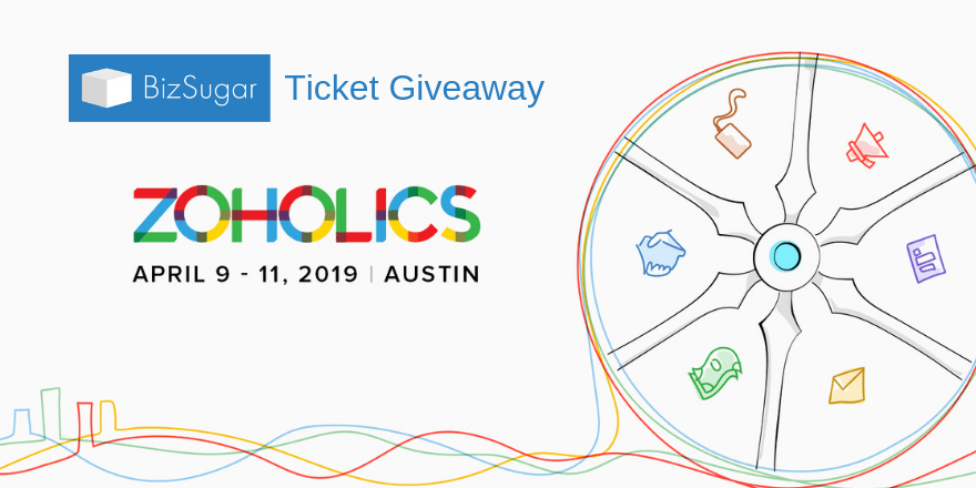 BizSugar Zoholics Ticket Giveaway GrowMap