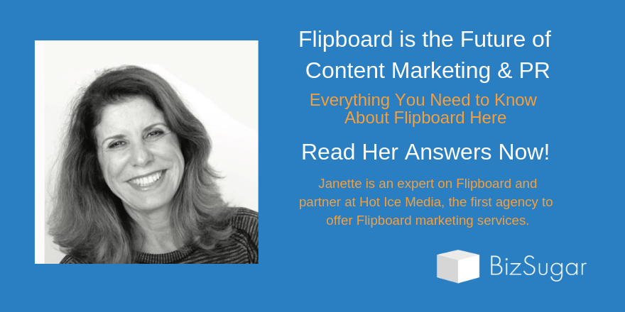 Flipboard is the Future of Content Marketing and PR – AMA with Janette Speyer