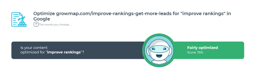 improve rankings keyword