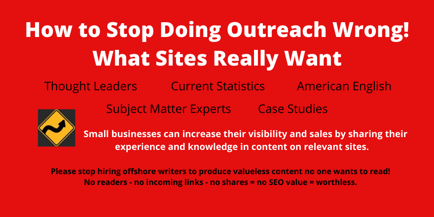 How to Stop Doing Outreach Wrong What Sites Really Want