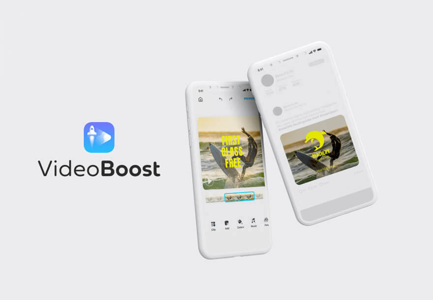 VideoBoost is a video maker app for iOS devices