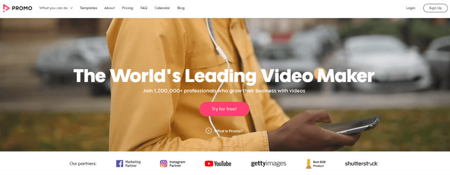 Overview of Promo Video Maker