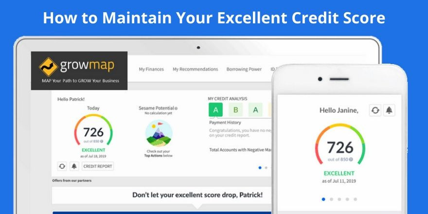 How to Maintain Your Excellent Credit Score