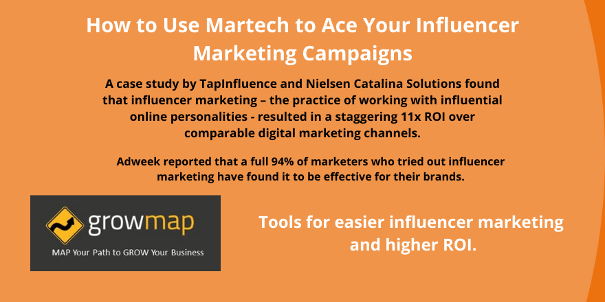 How to Use Martech to Ace Your Influencer Marketing Campaigns