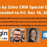 Free Mentoring: How to Use the Inexpensive CRM Bigin to Increase Income