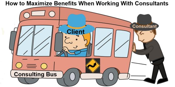 Consultants Are Not Magicians; Clients Must Drive Their Own Bus #smbiz