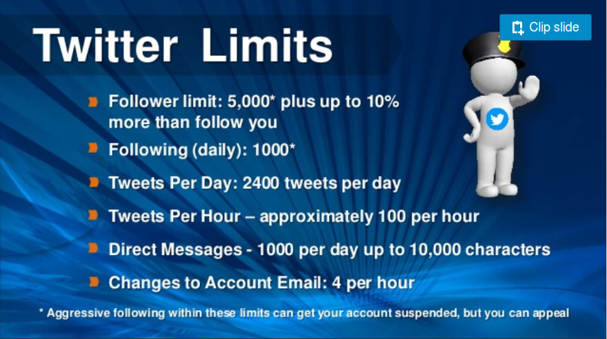 Twitter Limits Have CHANGED: Did You Know There Are At Least 8? #twitterlimits