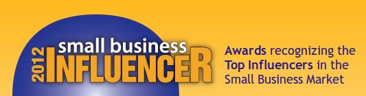 2012 Small Business Trends Influencers Awards Logo
