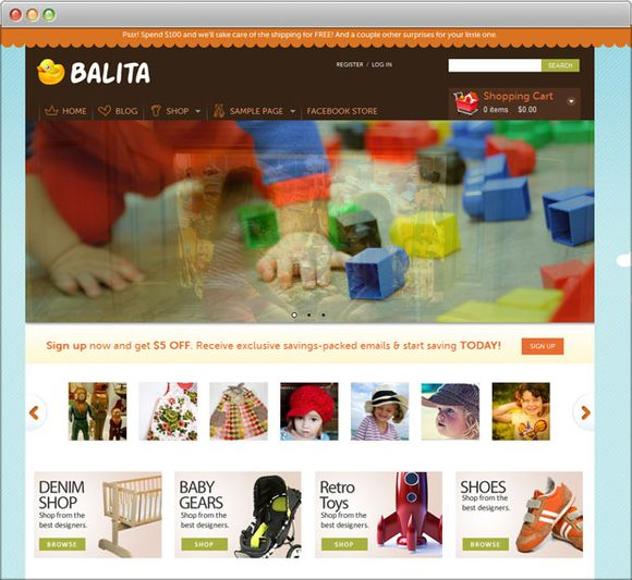 Balita WordPress Theme