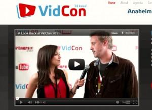 Vidcon 2012 news youtube keynote program marketplace