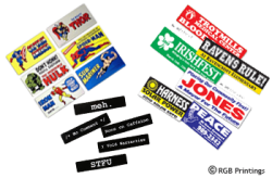 Using bumper stickers to promote your business