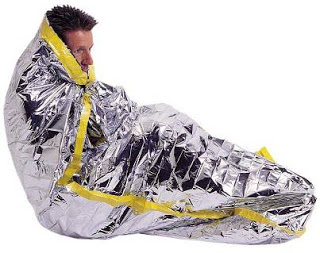 Prevent freezing deaths by donating mylar blankets to the homeless
