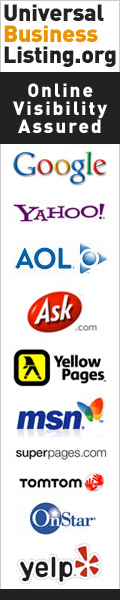Universal Business Listings gets you in many major directories (their logos on the banner)