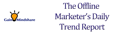 Gain Mindshare Offline Marketers Daily Trend Report